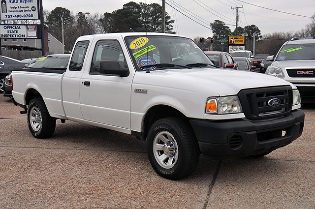 """2010 Ford Ranger 2WD 2dr SuperCab 126"""" XL"""
