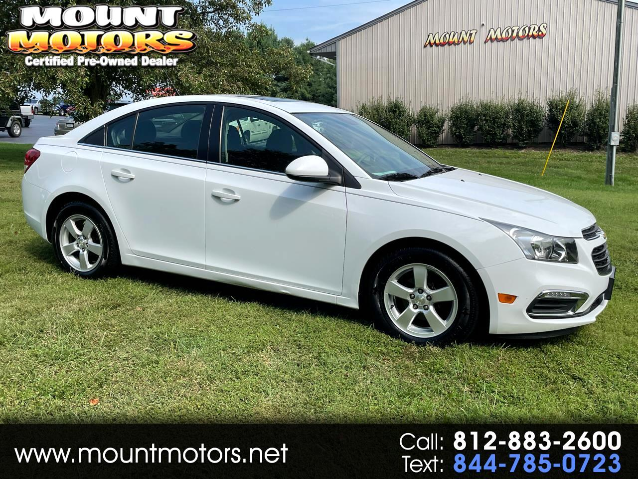 Chevrolet Cruze Limited 4dr Sdn Auto LT w/1LT 2016