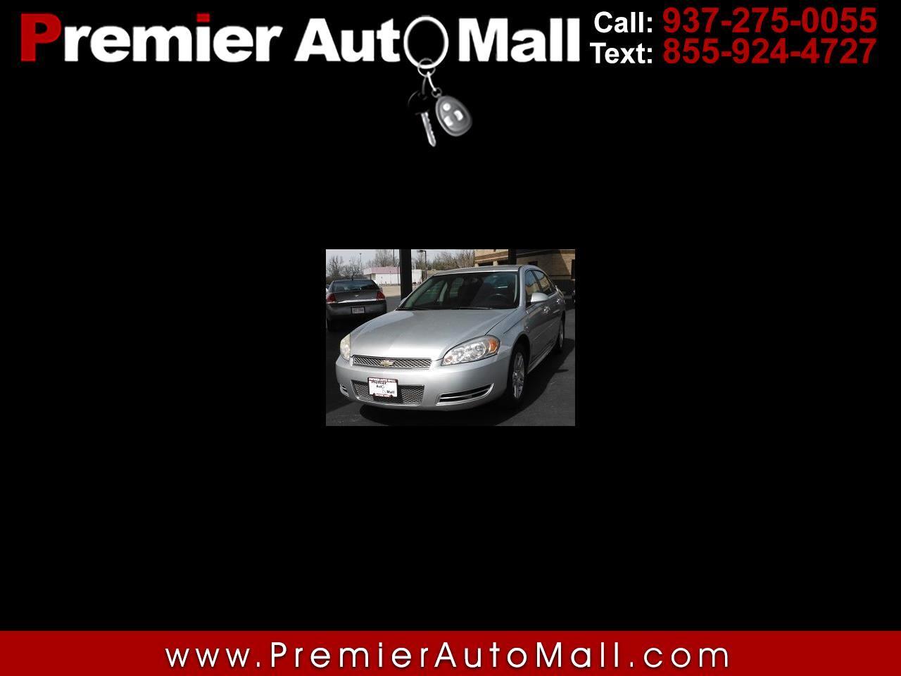 Chevrolet Impala 4dr Sdn LT Fleet 2012
