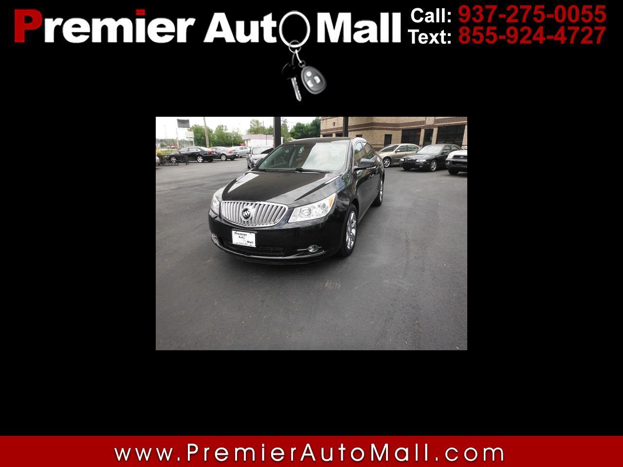 Buick LaCrosse 4dr Sdn CXL 3.0L AWD 2010
