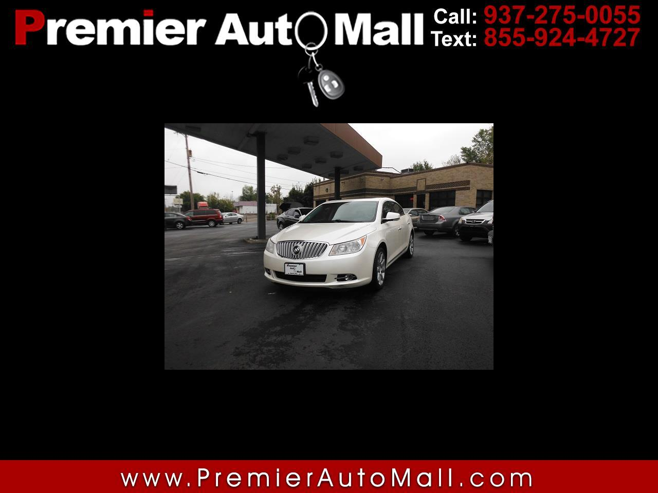 Buick LaCrosse 4dr Sdn CXS 3.6L 2010