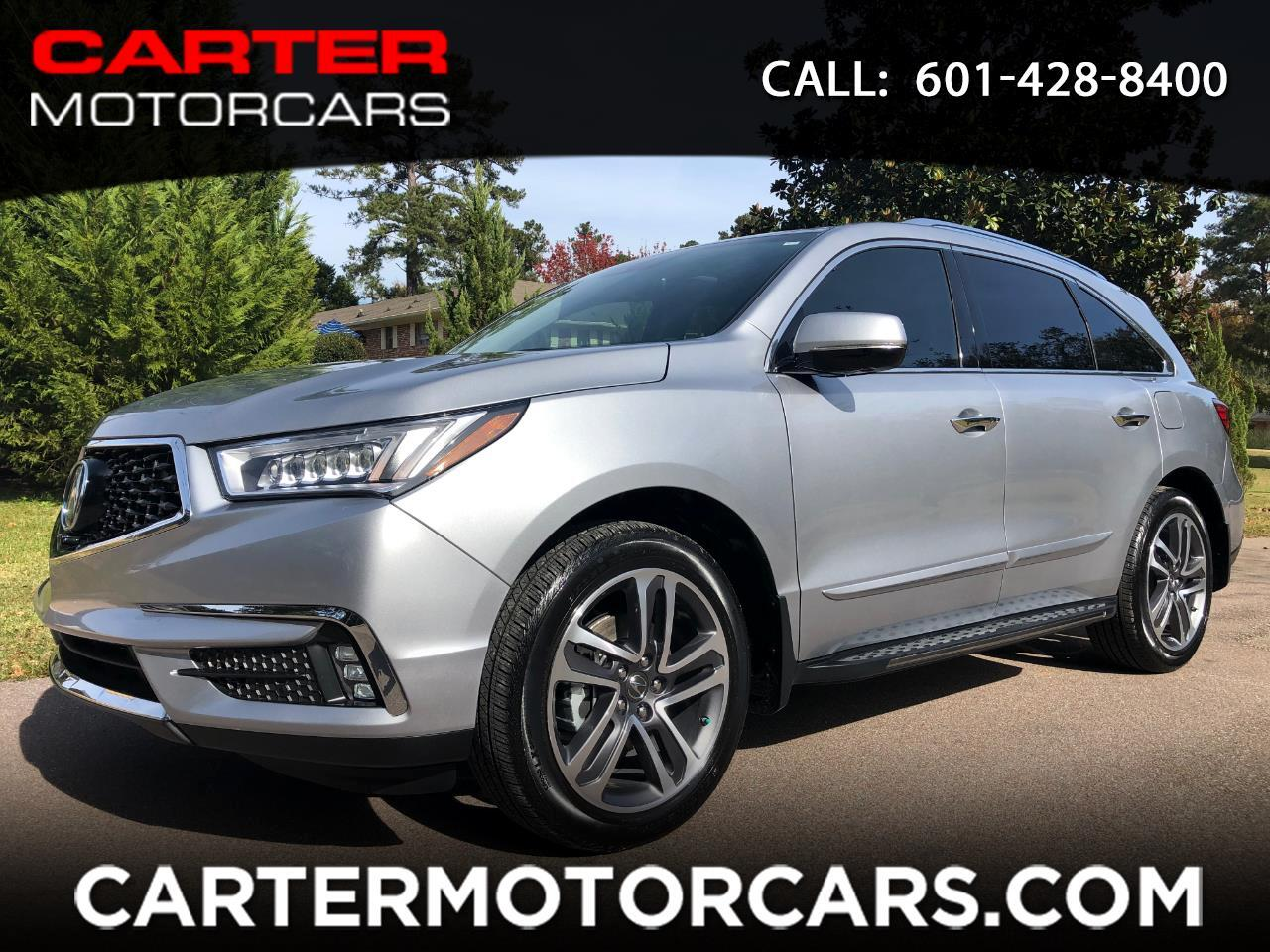 2018 Acura MDX 9-Spd AT Advance Package