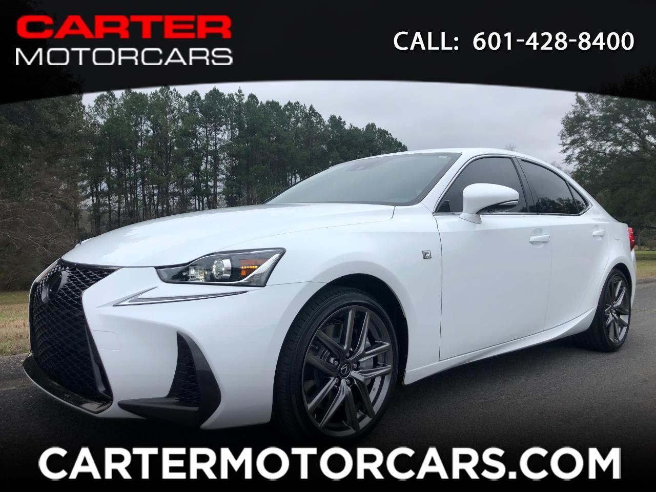 2018 Lexus IS 350 F-Sport