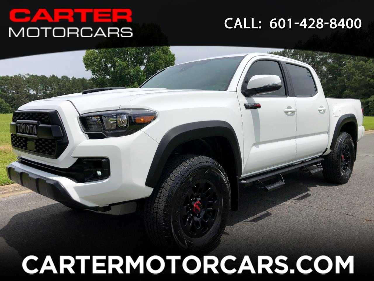 Toyota Tacoma 4WD Double Cab V6 AT TRD Pro (Natl) 2018