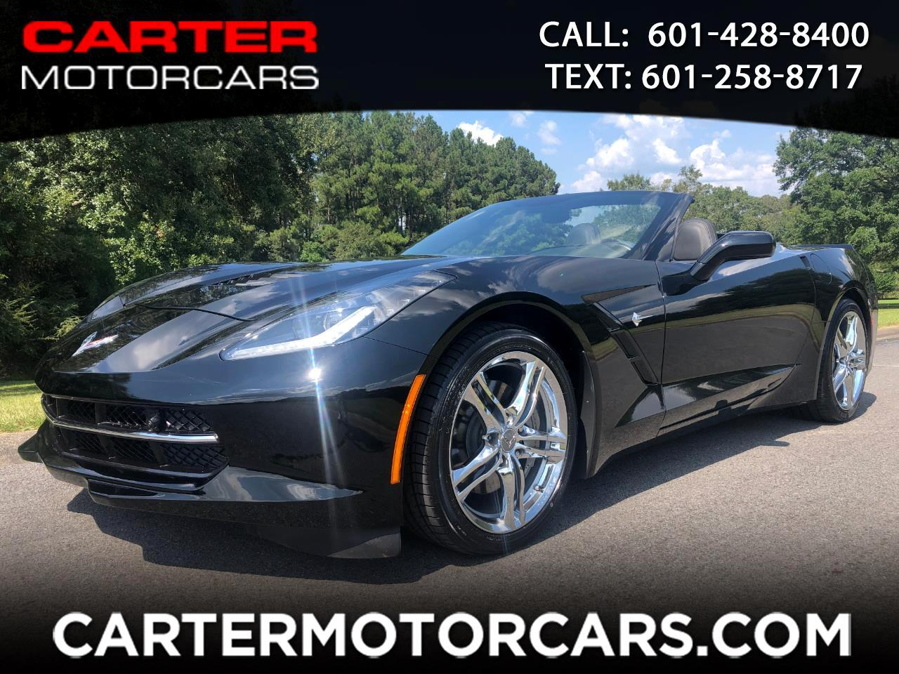 2017 Chevrolet Corvette 3LT Convertible