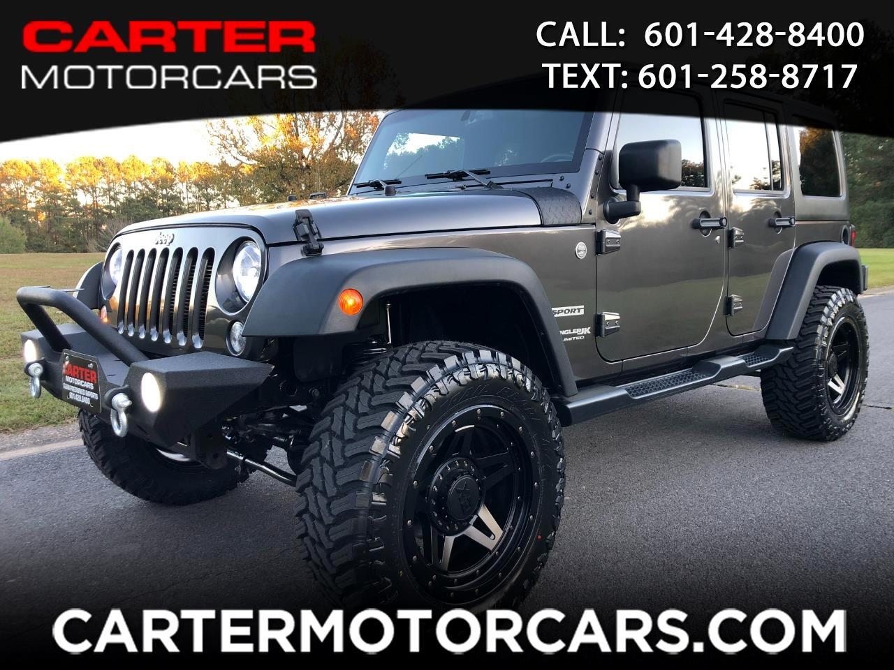 Jeep Wrangler JK Unlimited Sport 4WD 2018