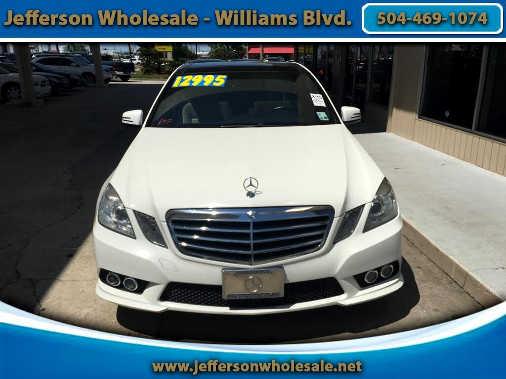 2010 Mercedes-Benz E350 Base