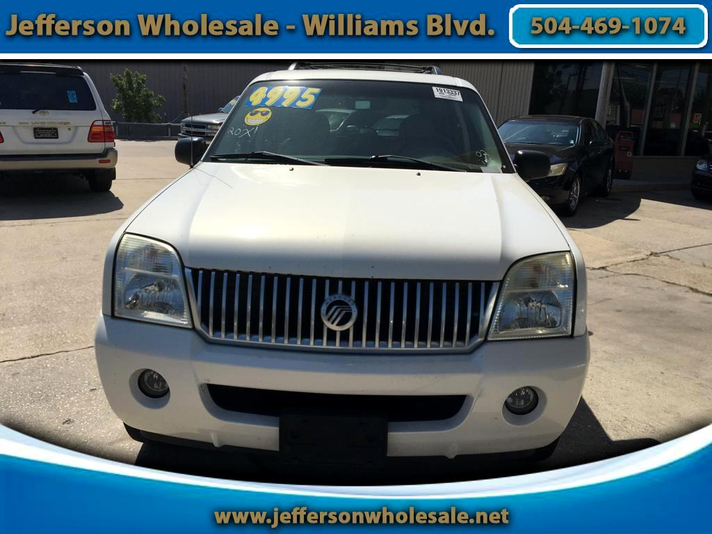 "2002 Mercury Mountaineer 4dr 114"" WB"