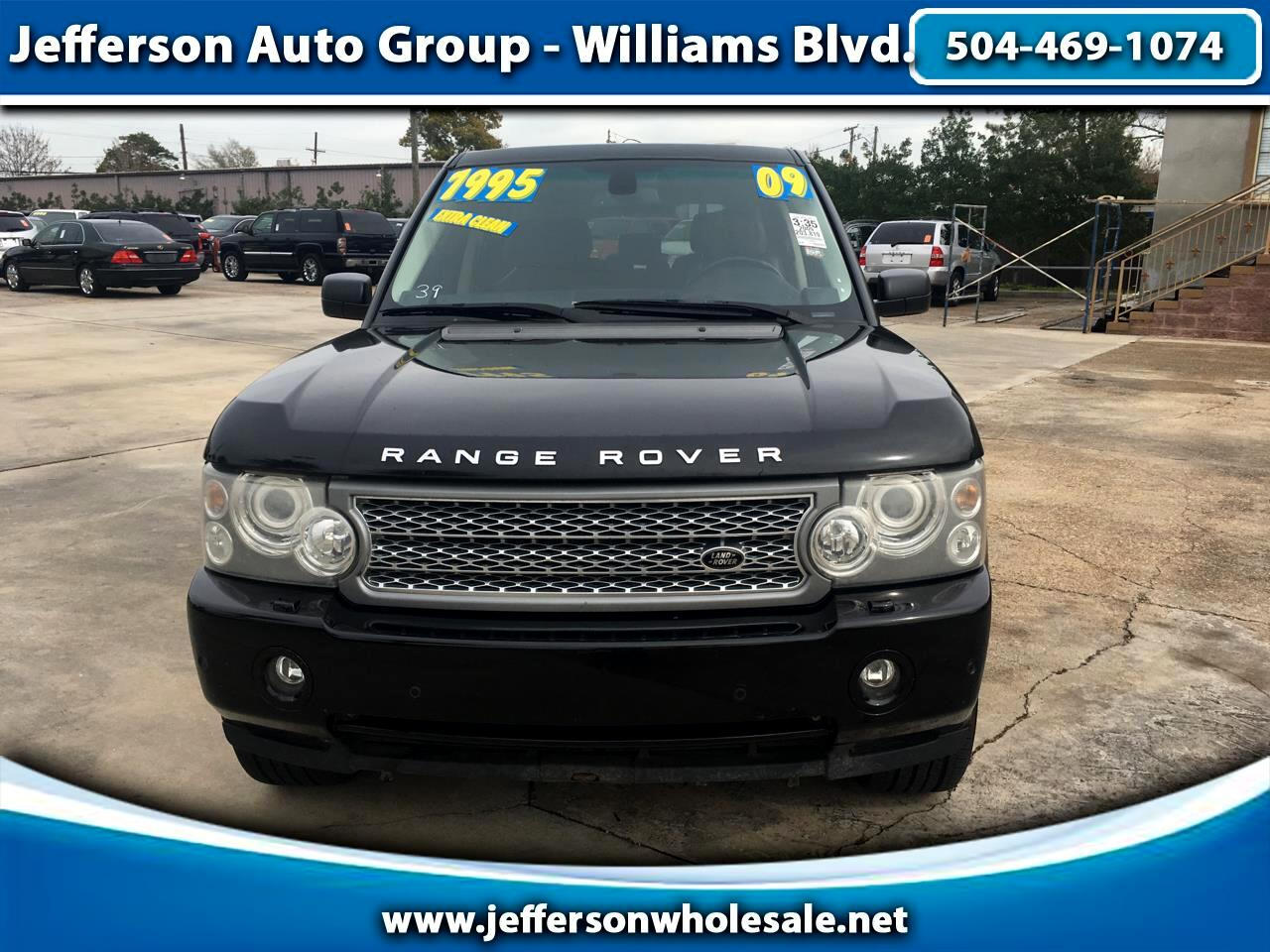 2009 Land Rover Range Rover 4WD 4dr HSE