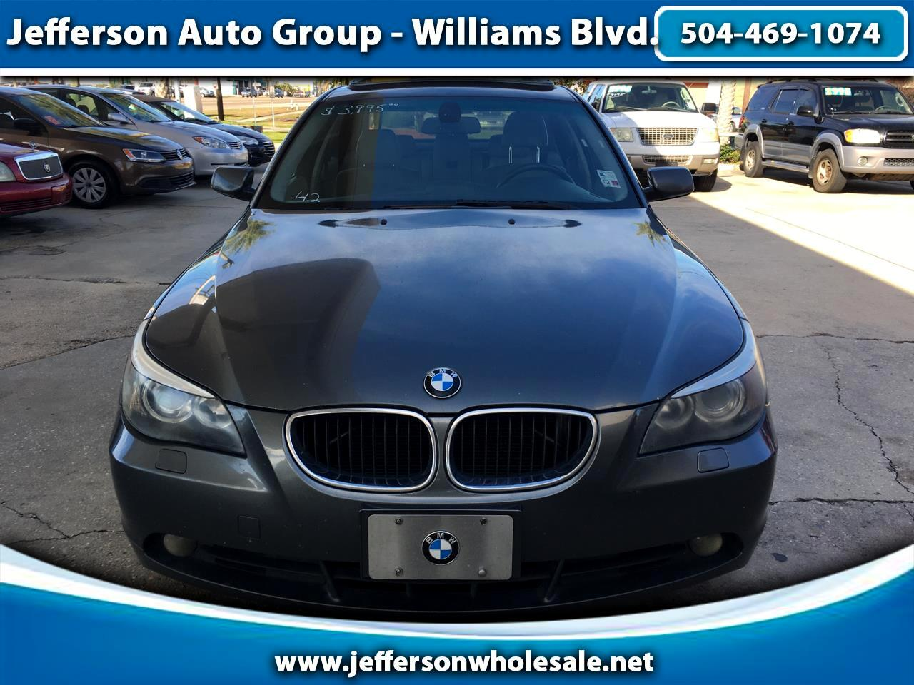 2004 BMW 5 Series 525i 4dr Sdn