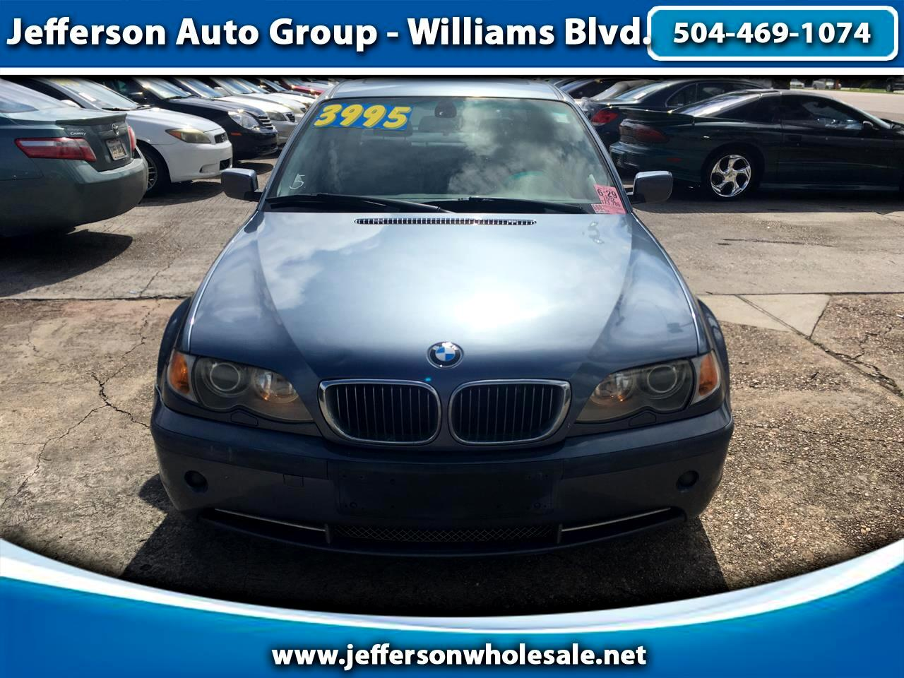 2002 BMW 3 Series 330i 4dr Sdn RWD