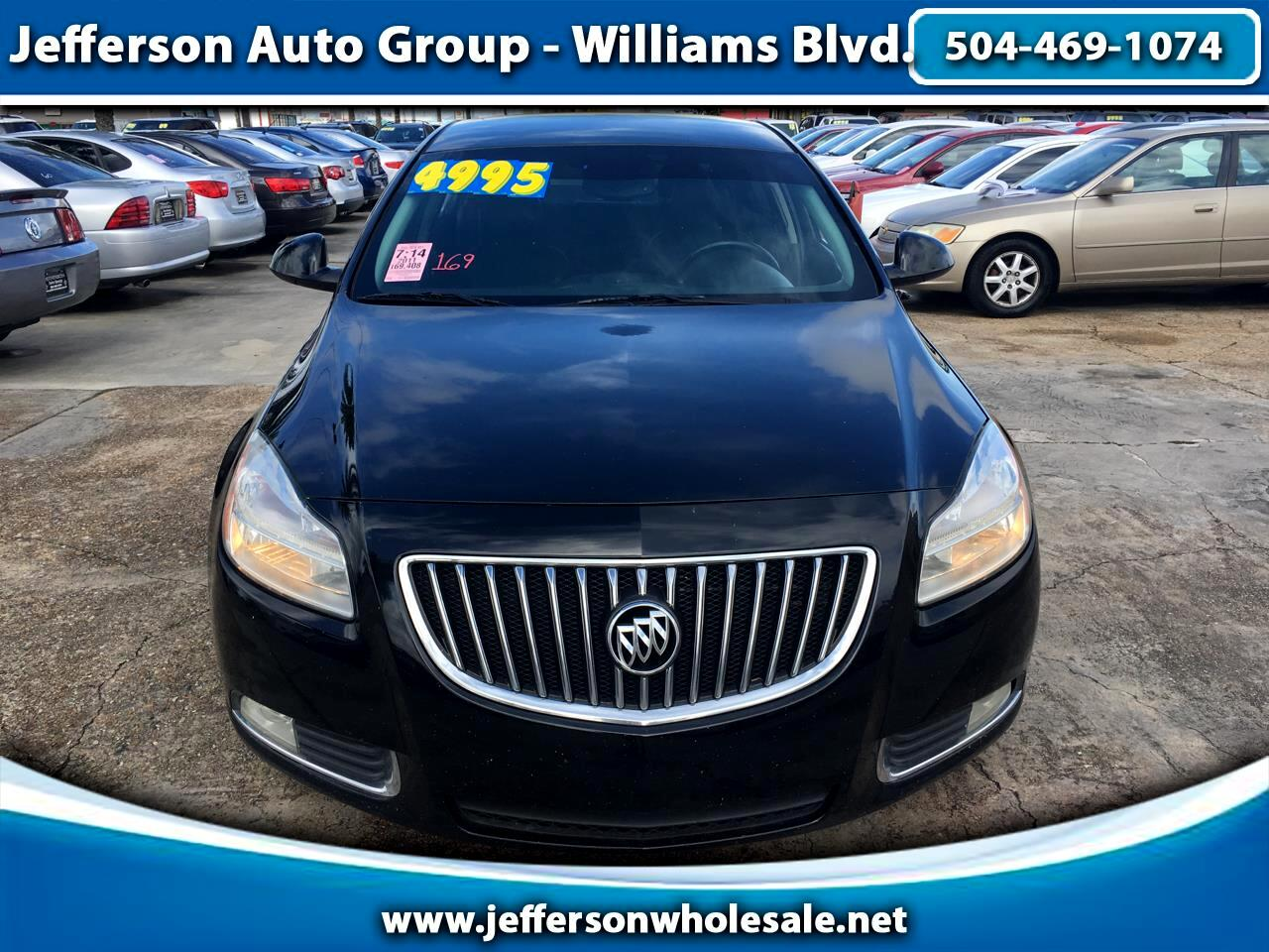 2011 Buick Regal 4dr Sdn FWD