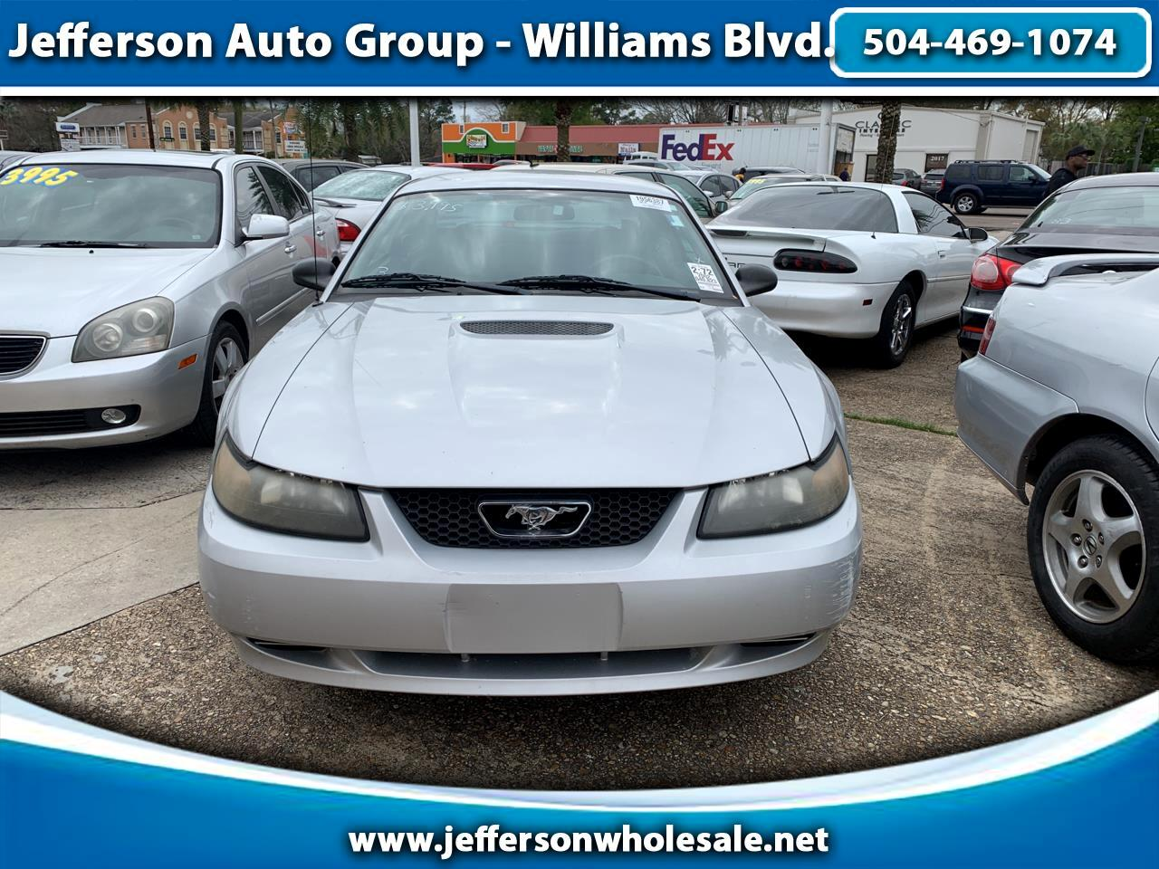 2002 Ford Mustang 2dr Cpe Standard
