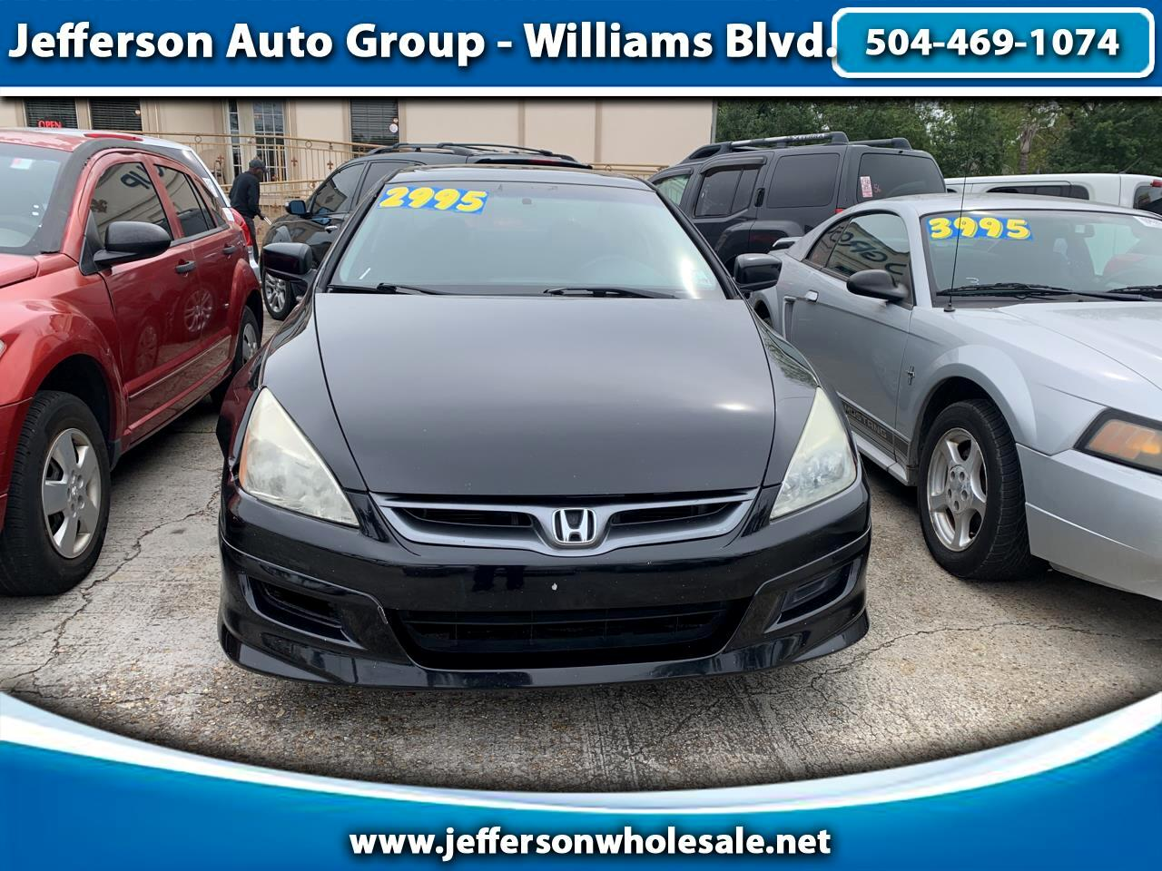 2007 Honda Accord Cpe 2dr I4 AT EX-L w/Navi