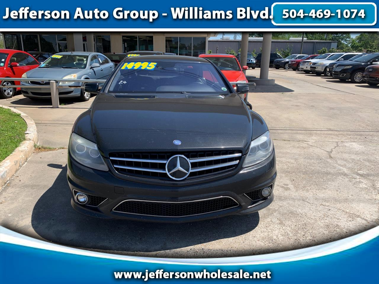 2010 Mercedes-Benz CL-Class 2dr Cpe CL 63 AMG RWD
