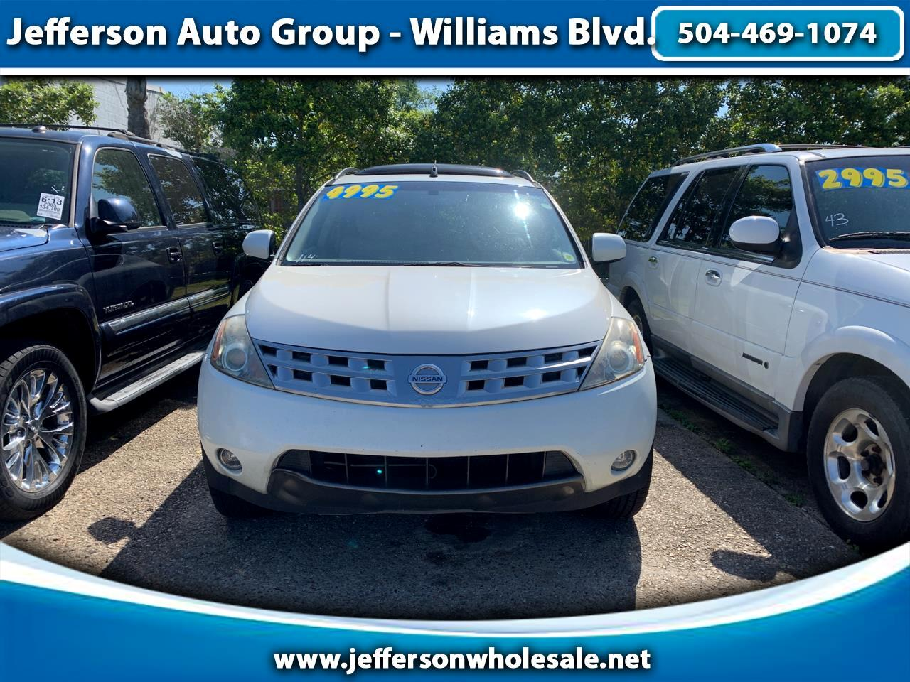 2004 Nissan Murano 4dr SL 2WD V6