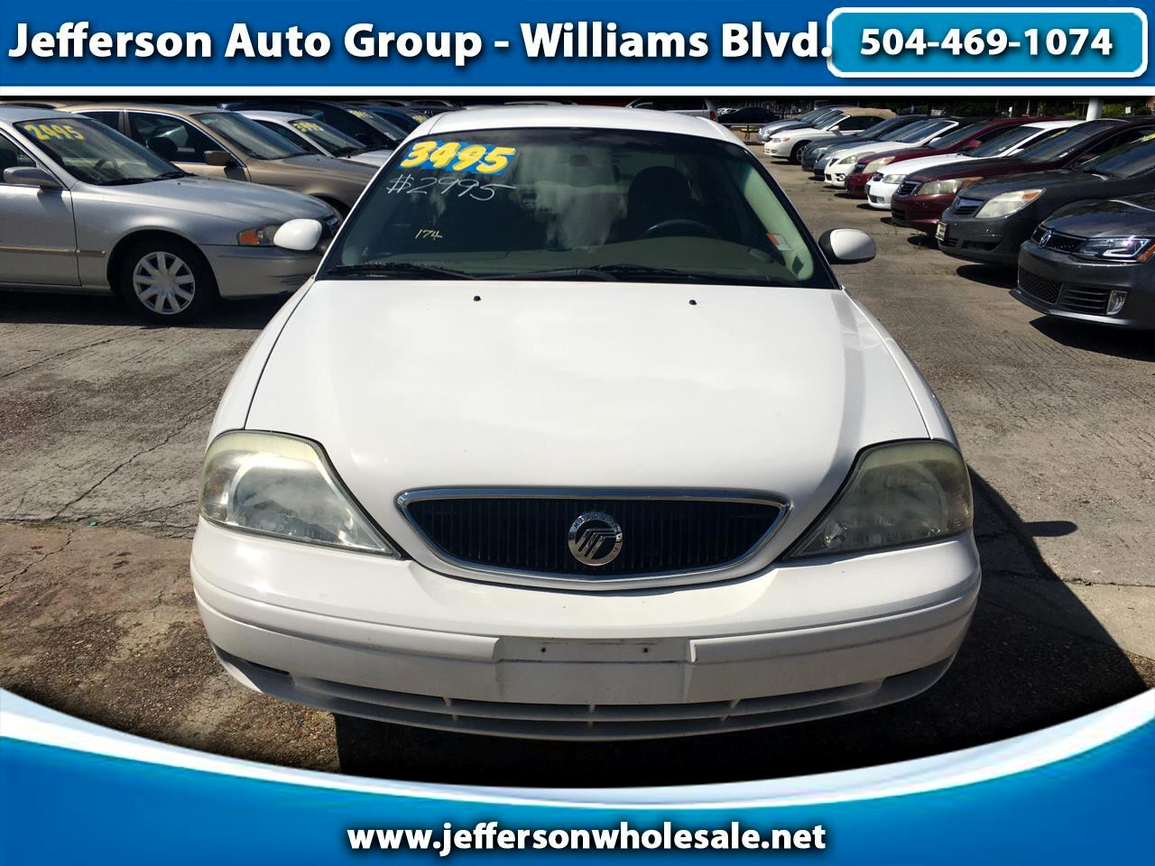 2003 Mercury Sable 4dr Sdn GS