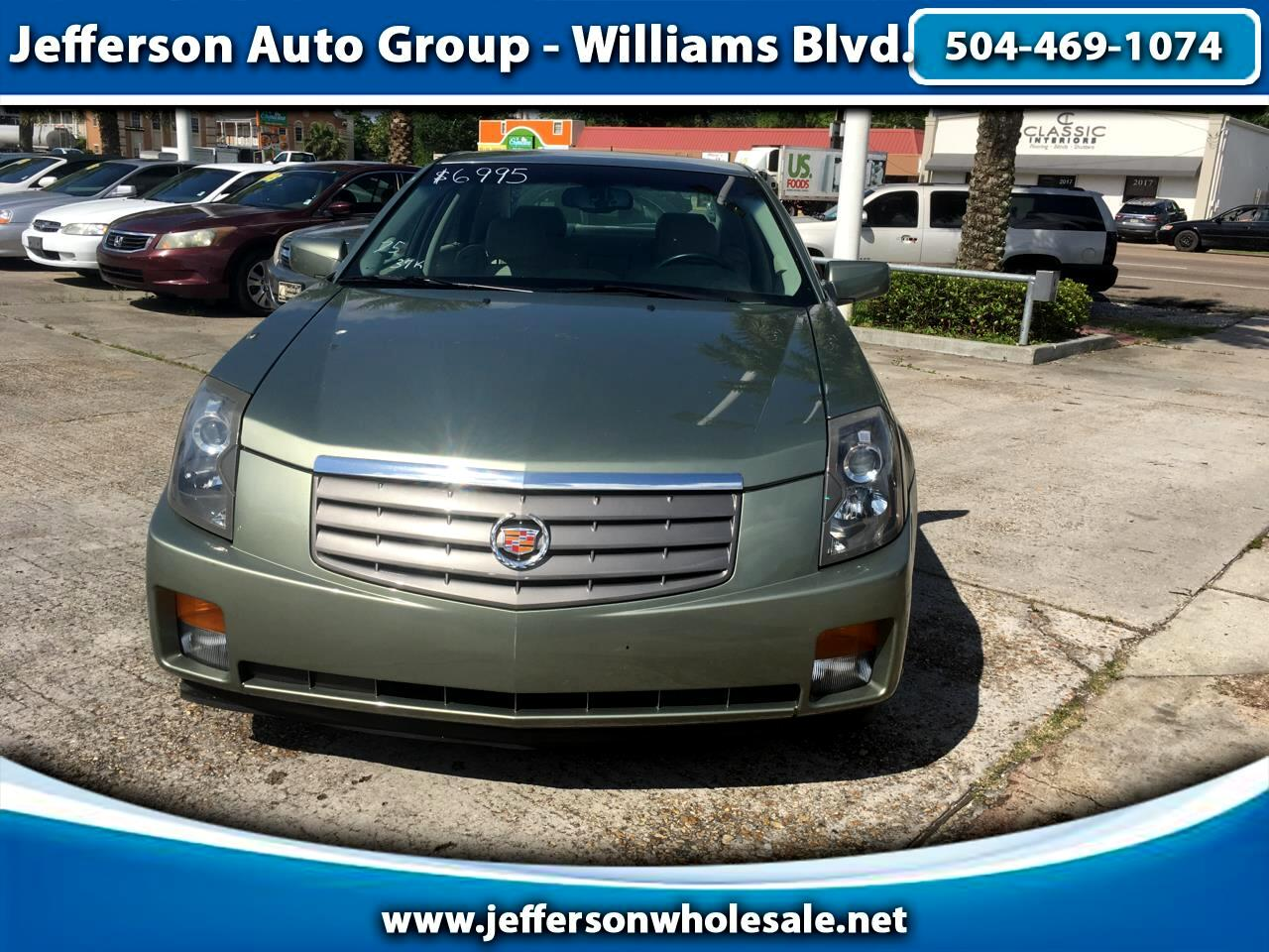 2005 Cadillac CTS 4dr Sdn 3.6L