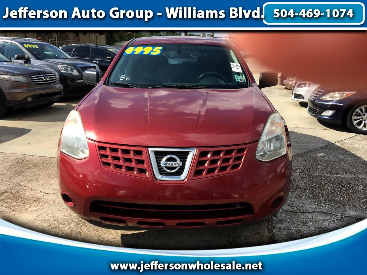 2010 Nissan Rogue FWD 4dr S