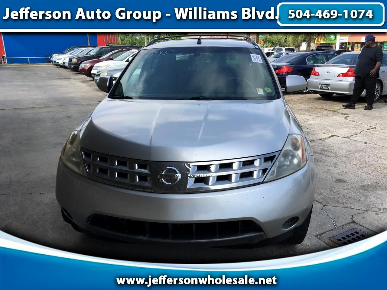 2005 Nissan Murano 4dr SL FWD V6