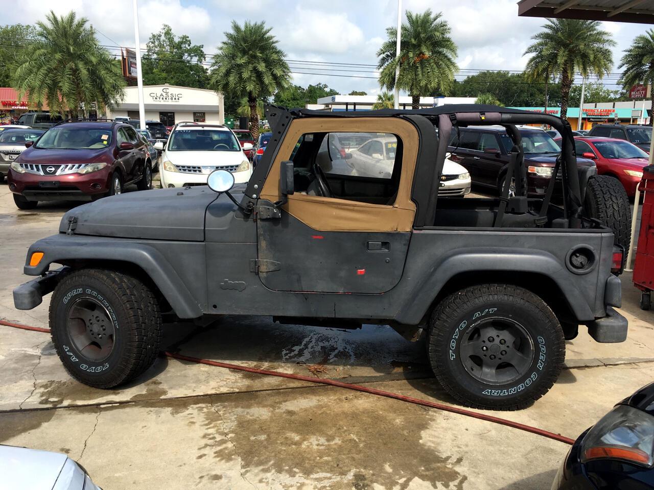 1997 Jeep Wrangler 2dr Sport