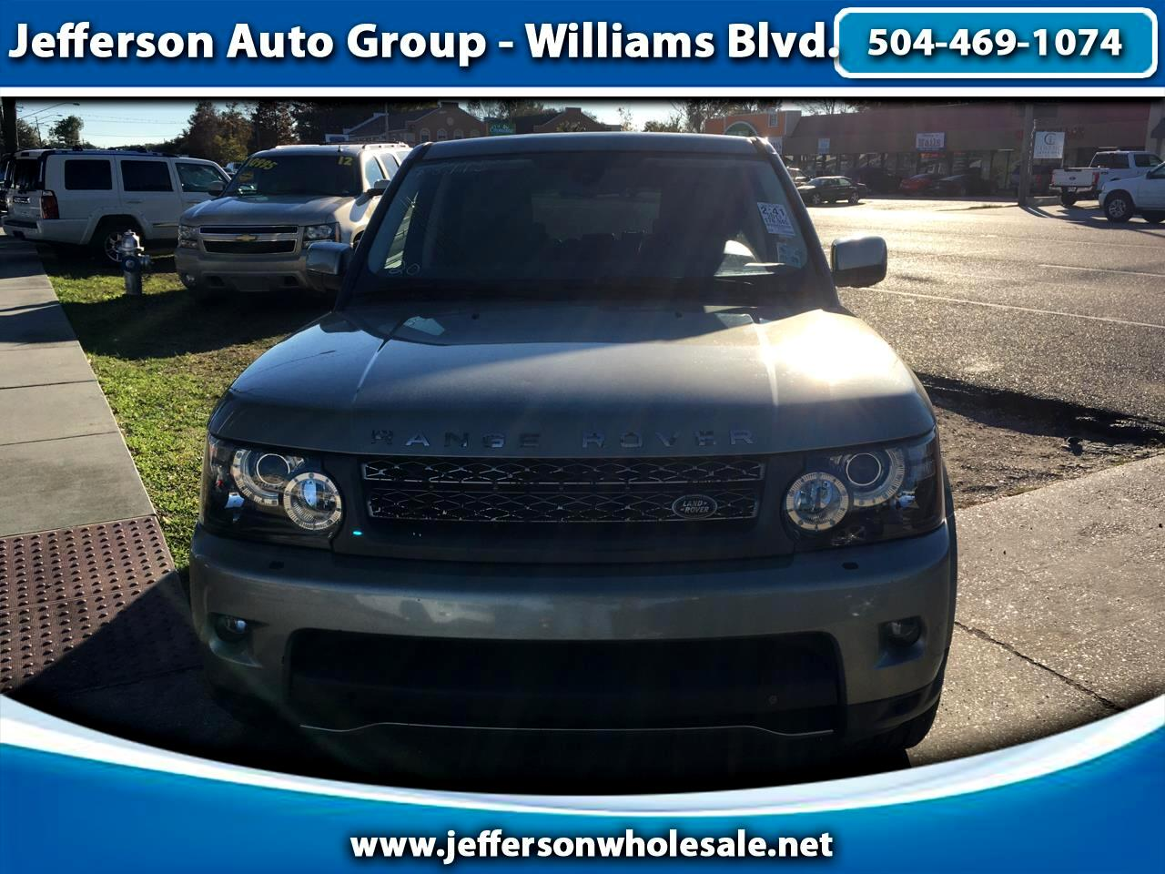 Land Rover Range Rover Sport 4WD 4dr SC 2011