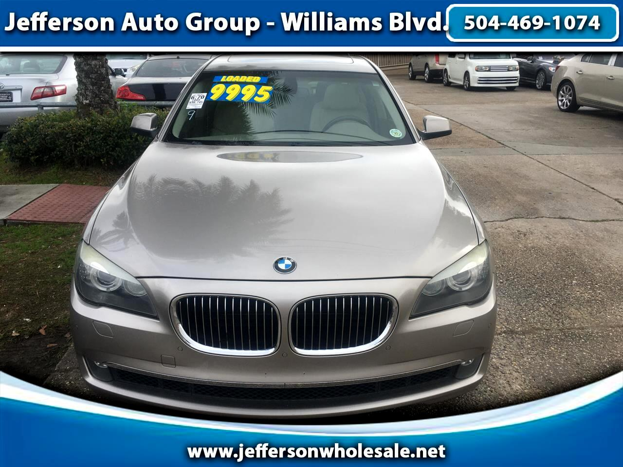 BMW 7 Series 4dr Sdn 750i 2009
