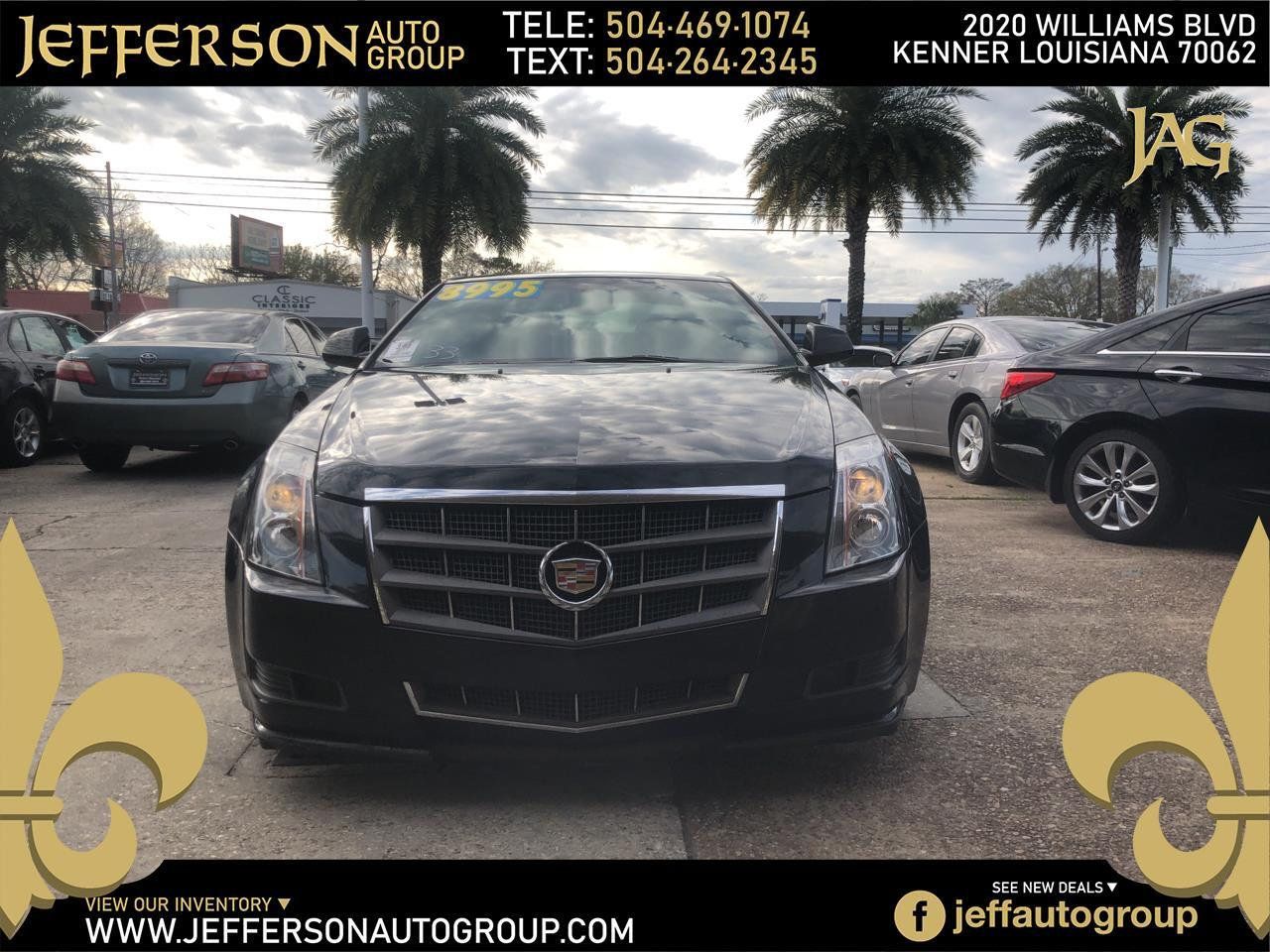 Cadillac CTS Coupe 2dr Cpe RWD 2011