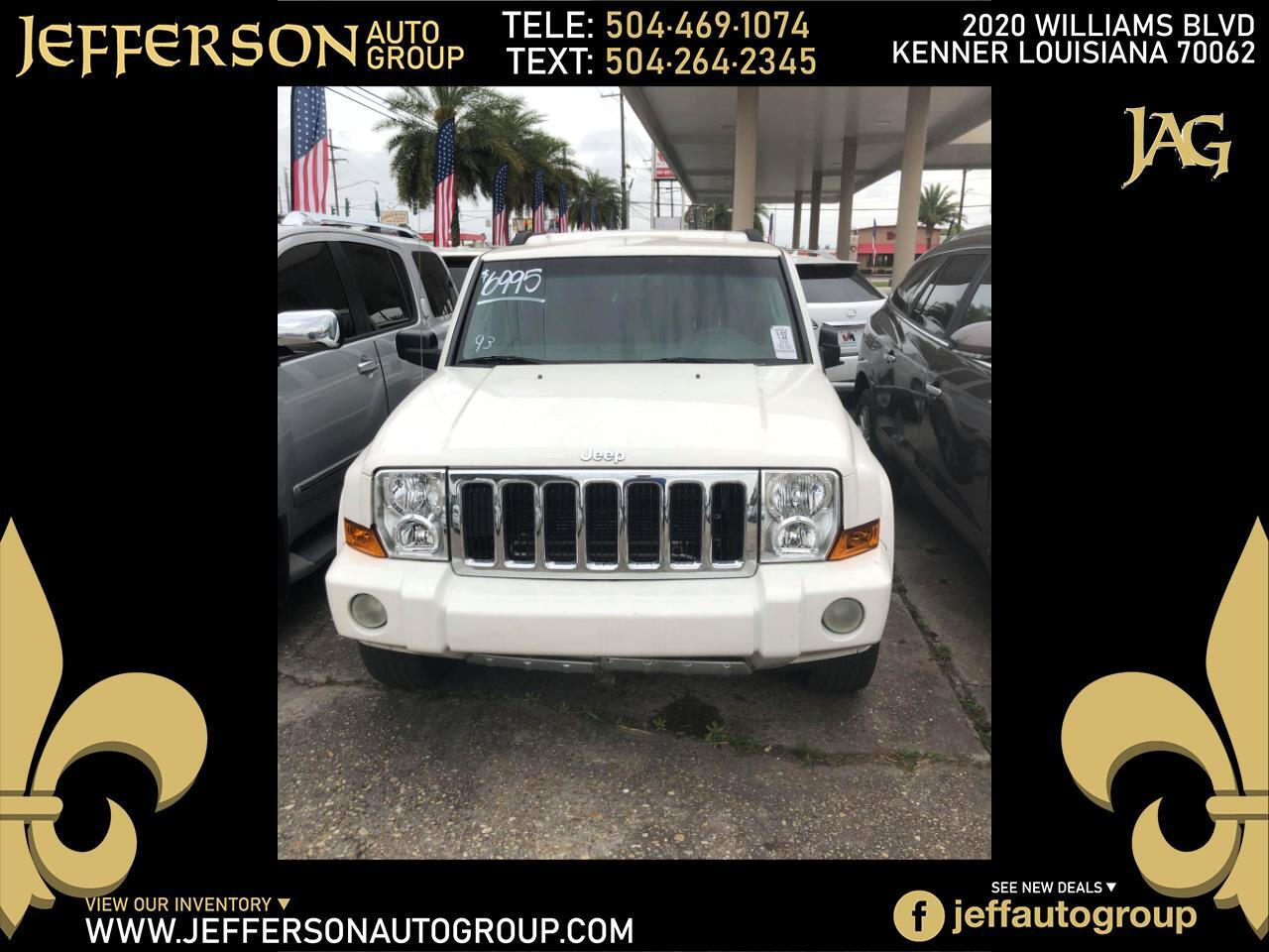 Jeep Commander RWD 4dr Sport 2008
