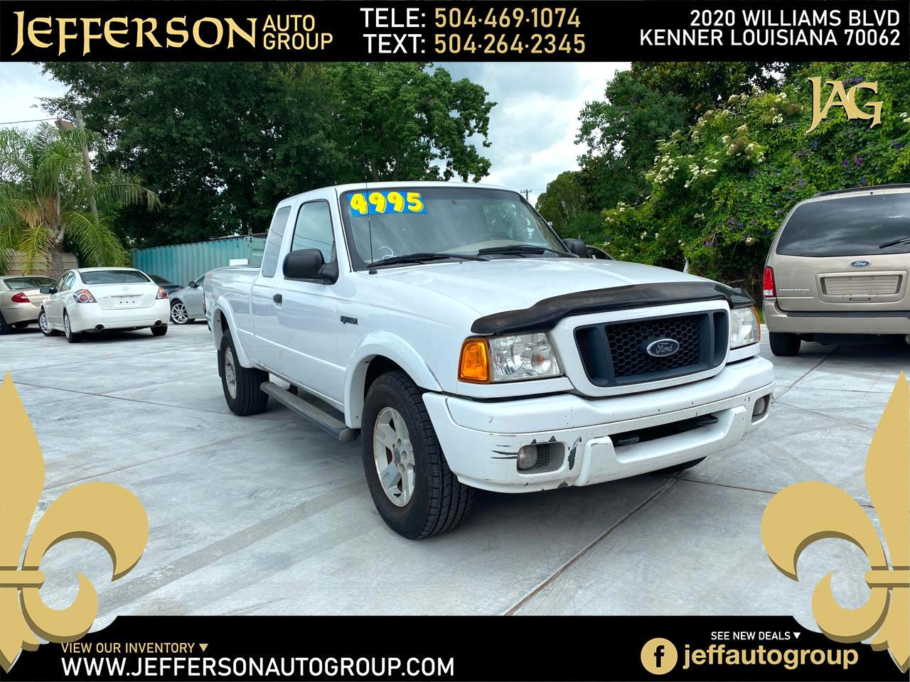 """Ford Ranger 4dr Supercab 126"""" WB FX4 Lvl II 4WD 2005"""