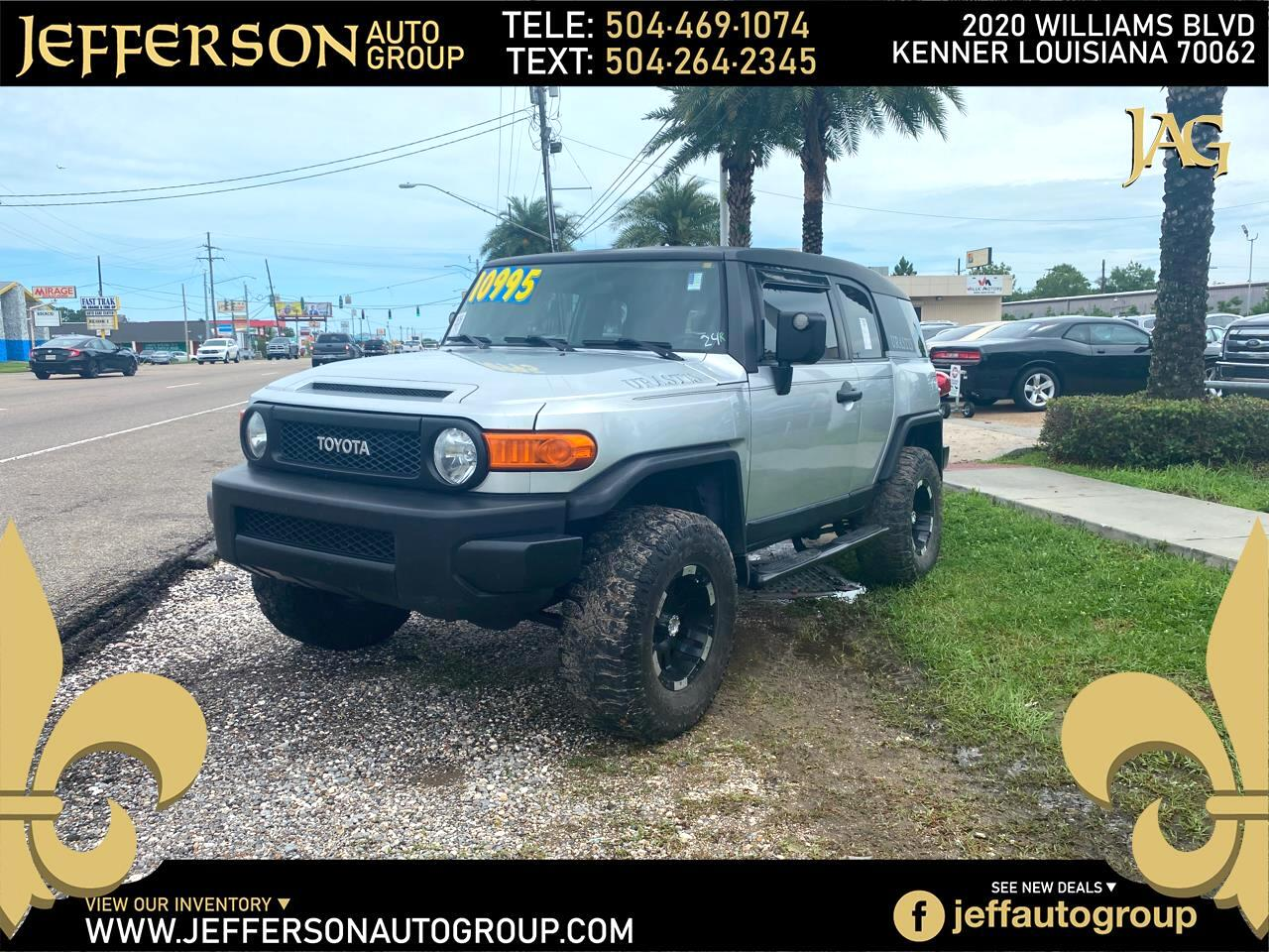 Toyota FJ Cruiser 4WD 4dr Manual (Natl) 2007