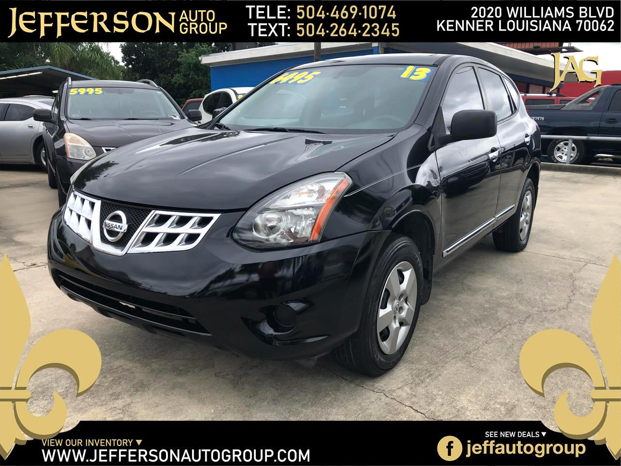 Nissan Rogue Select FWD 4dr S 2014