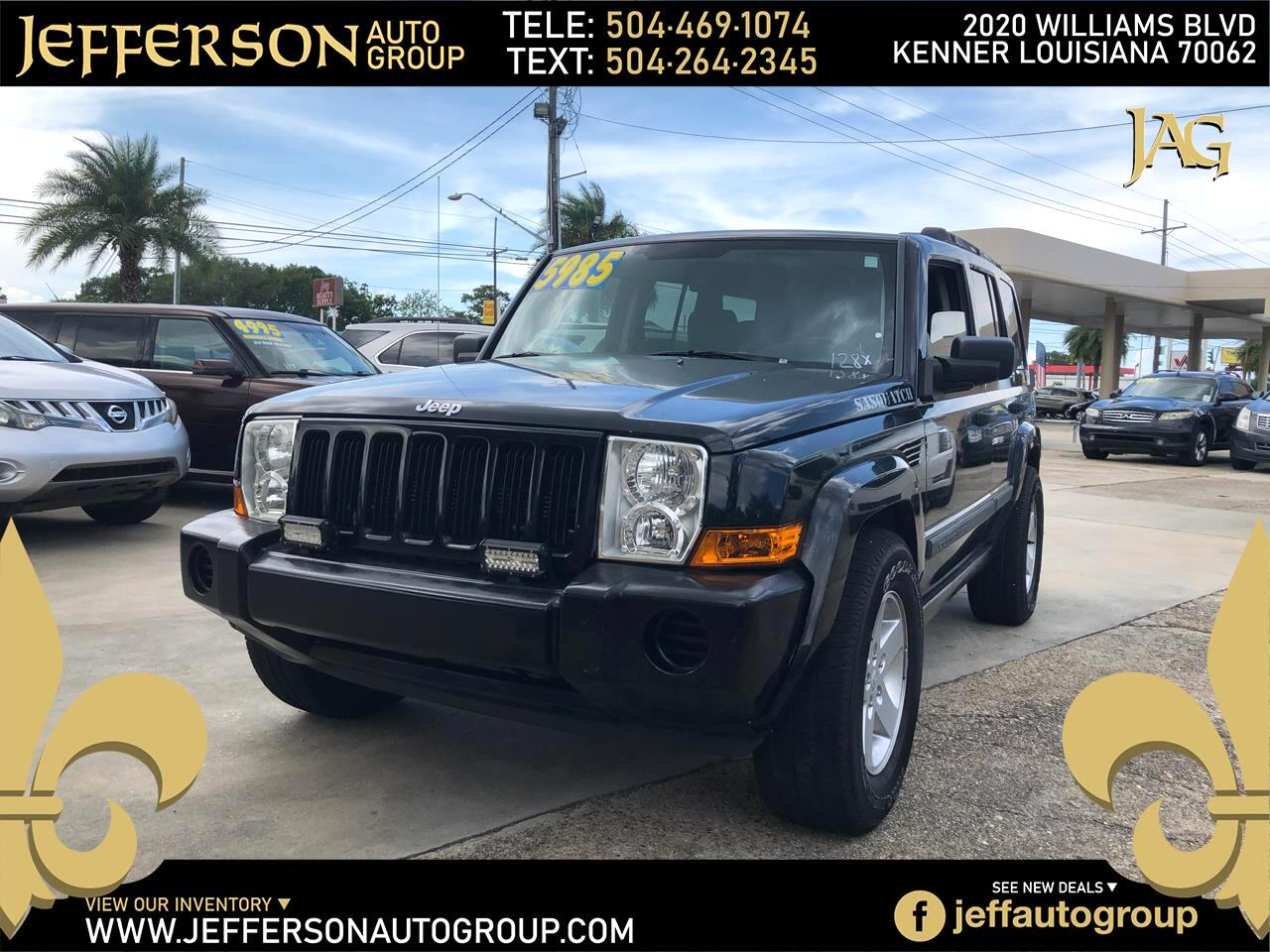 Jeep Commander 4dr 2WD 2006
