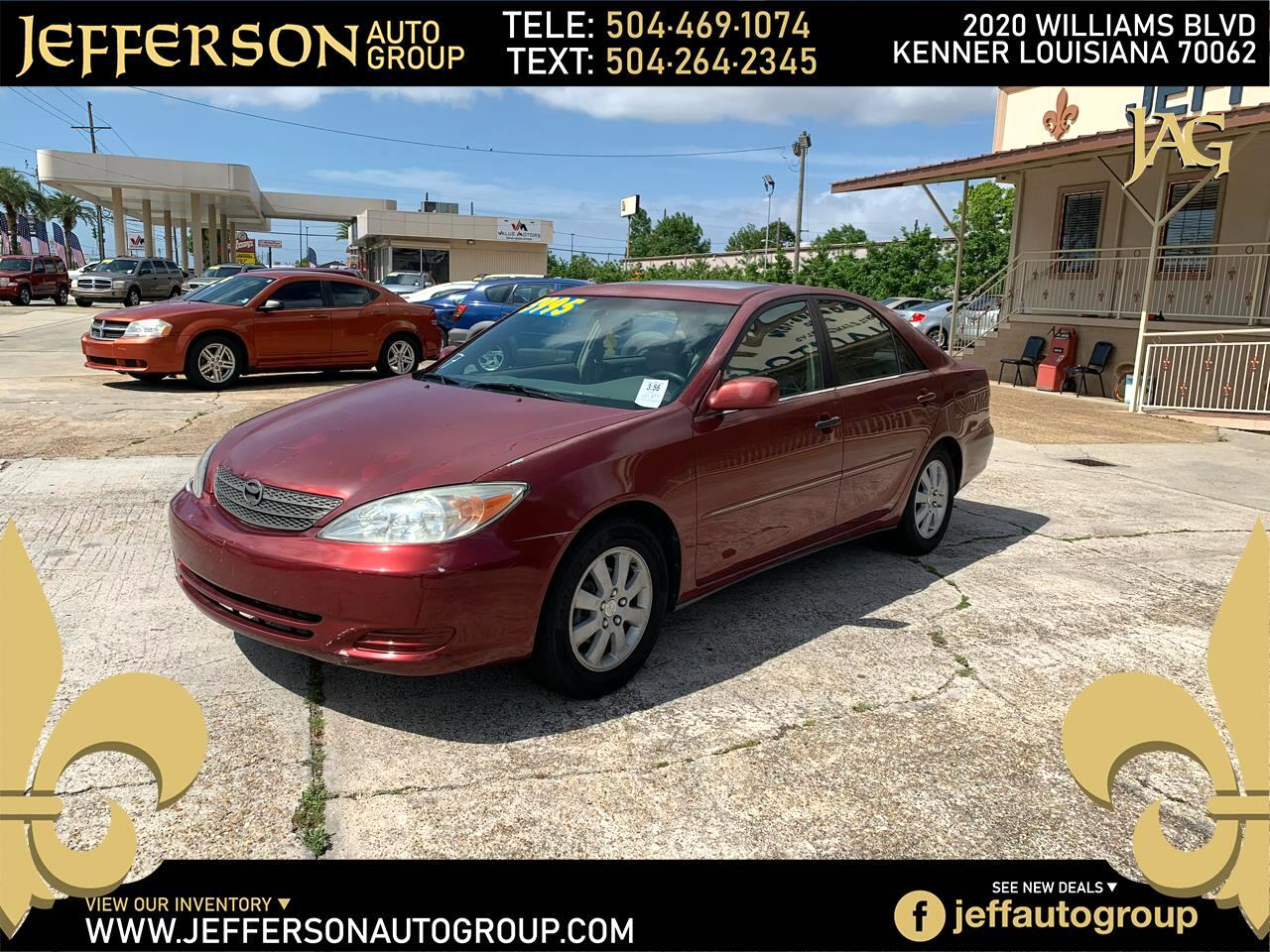 2002 Toyota Camry 4dr Sdn XLE Auto (Natl)