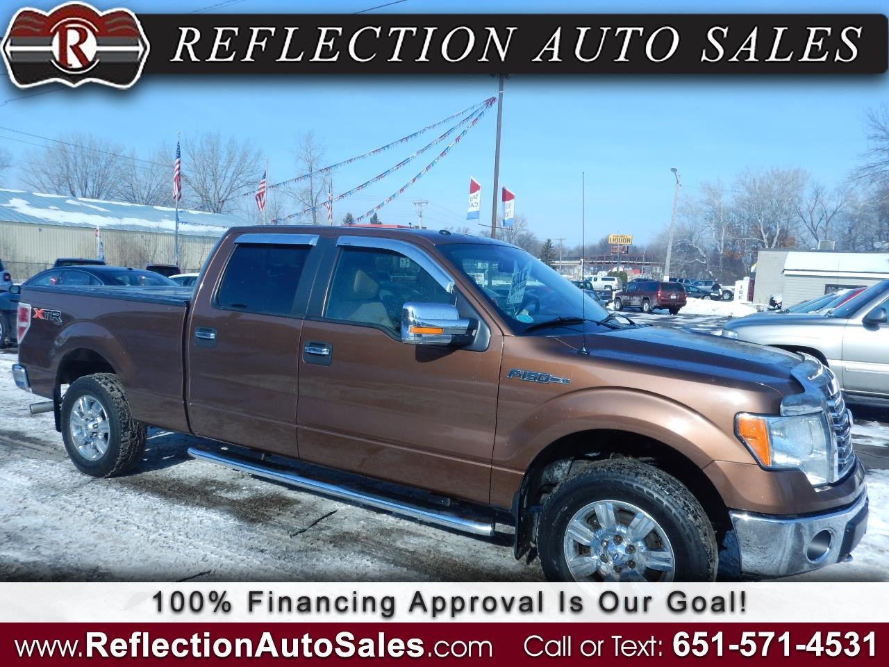 "2011 Ford F-150 4WD SuperCab 145"" XLT"