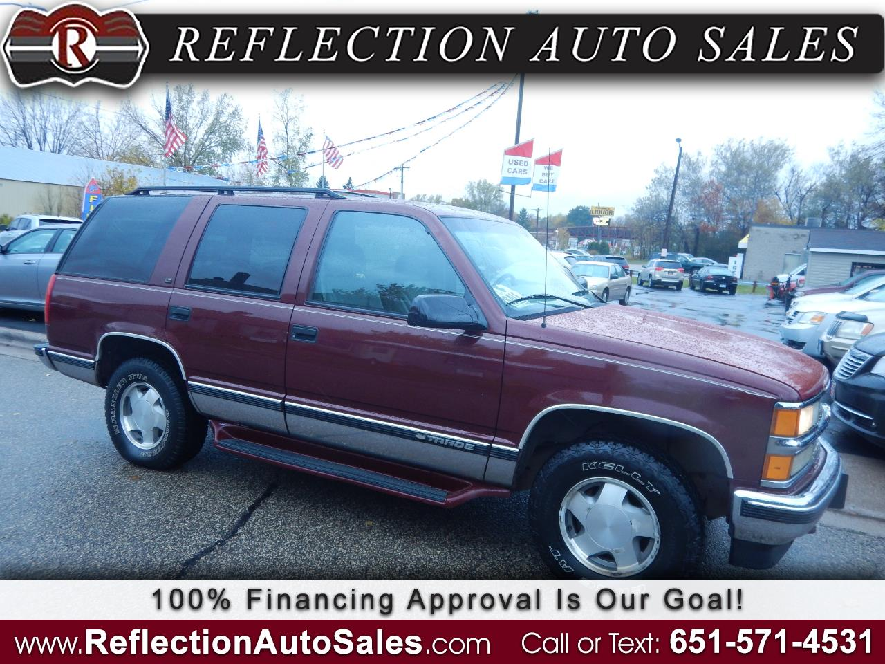 Chevrolet Tahoe 1500 4dr 4WD 1998