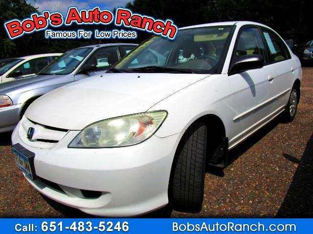 2005 Honda Civic LX sedan