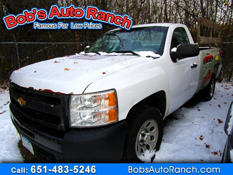 2012 Chevrolet Silverado 1500 Work Truck Long Box 2WD
