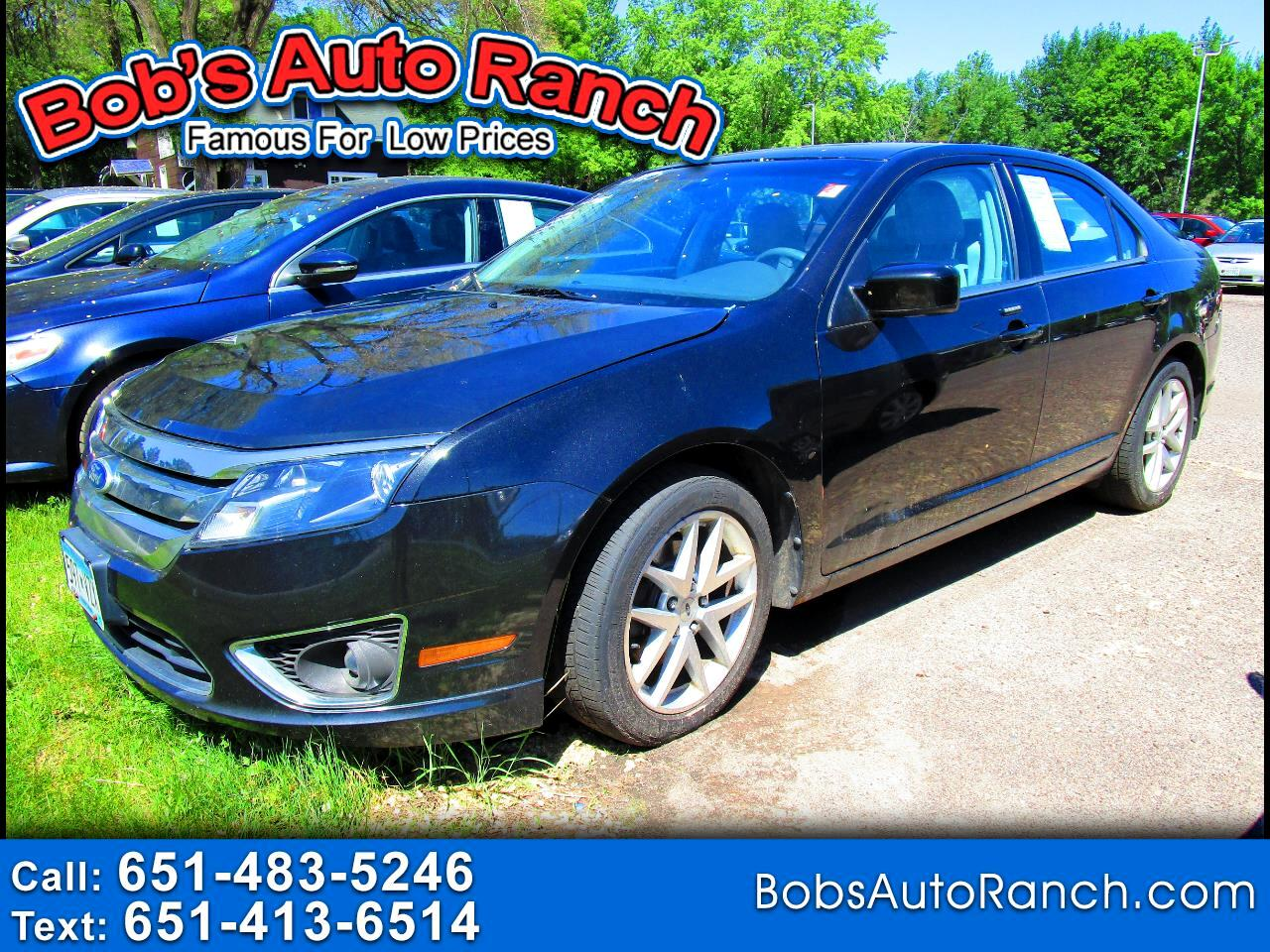 Ford Fusion 4dr Sdn SEL FWD 2010