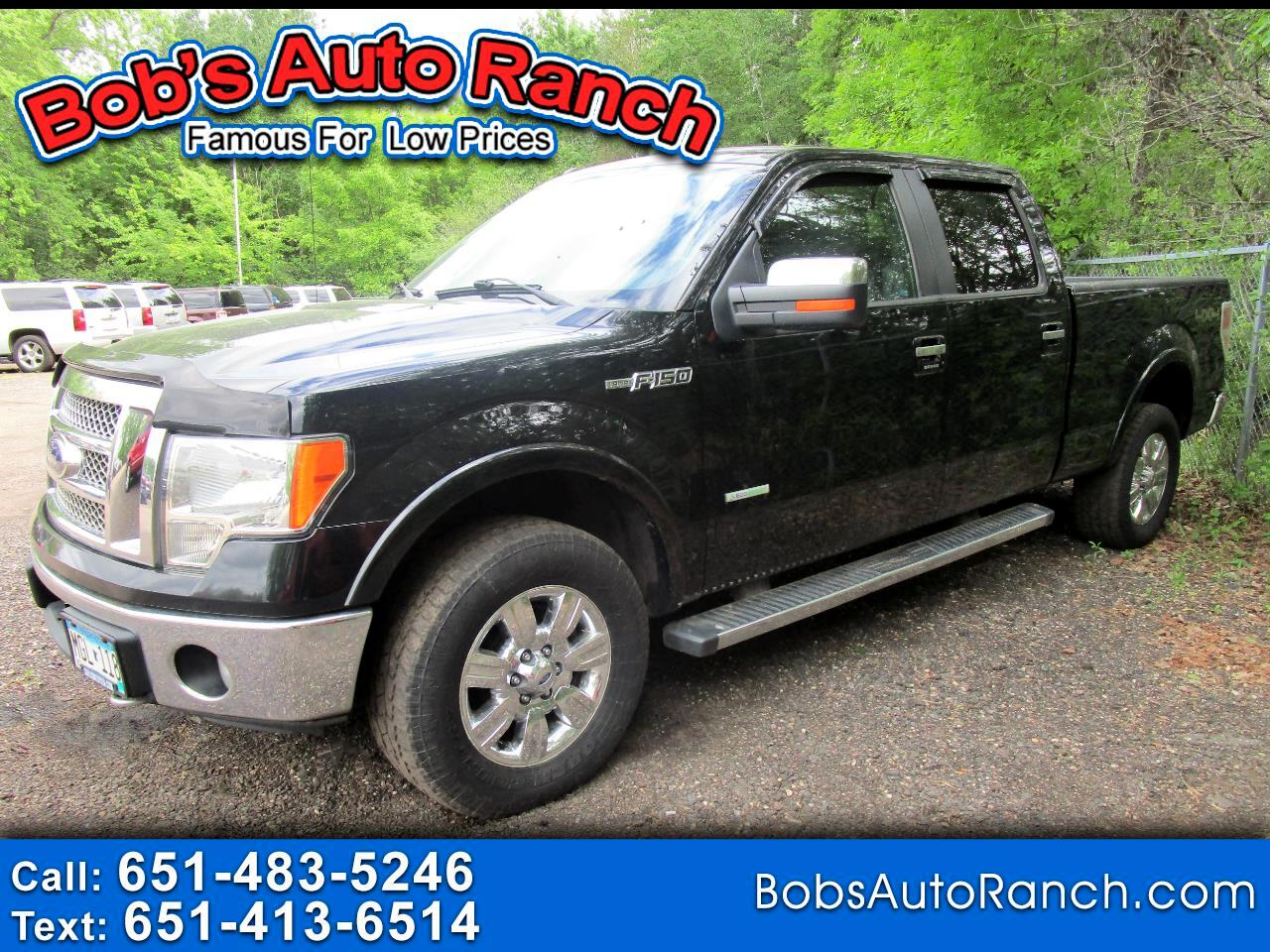 "Ford F-150 4WD SuperCrew 145"" Lariat 2011"