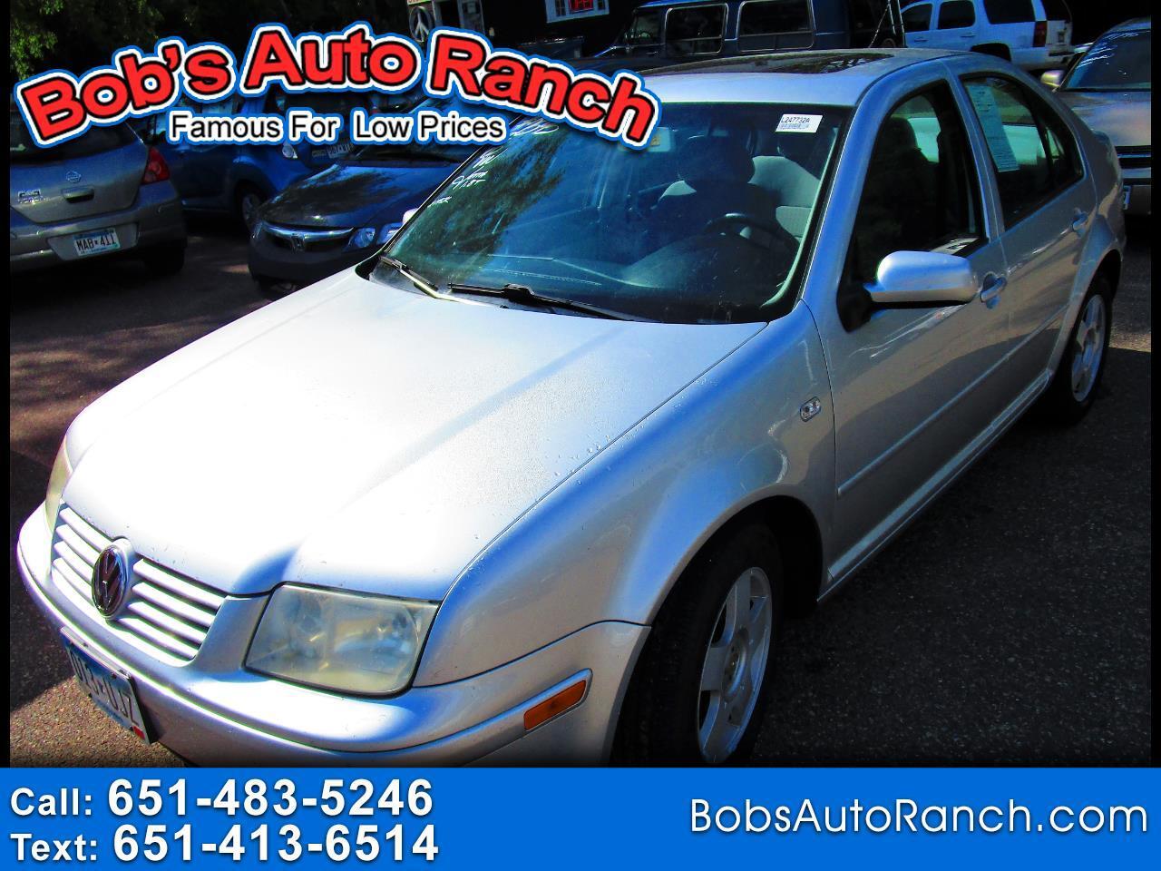 Volkswagen Jetta Sedan 4dr Sdn GLS Turbo Auto w/Tiptronic 2002