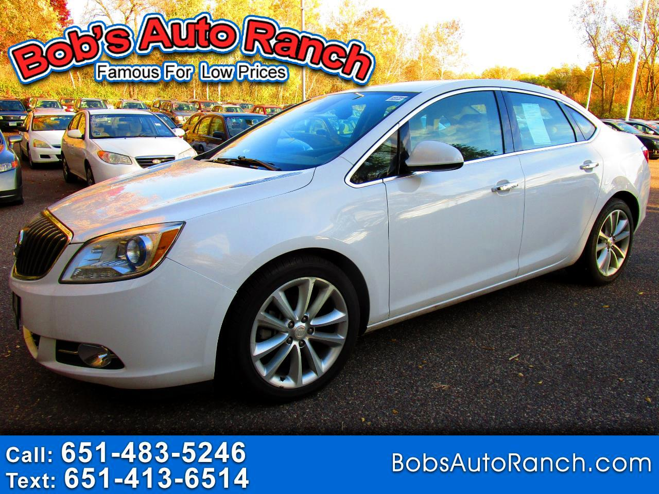 Buick Verano 4dr Sdn Leather Group 2014