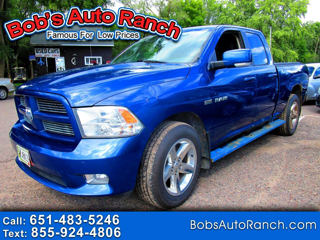"""Dodge Ram 1500 4WD Quad Cab 140.5"""" Sport 2010"""