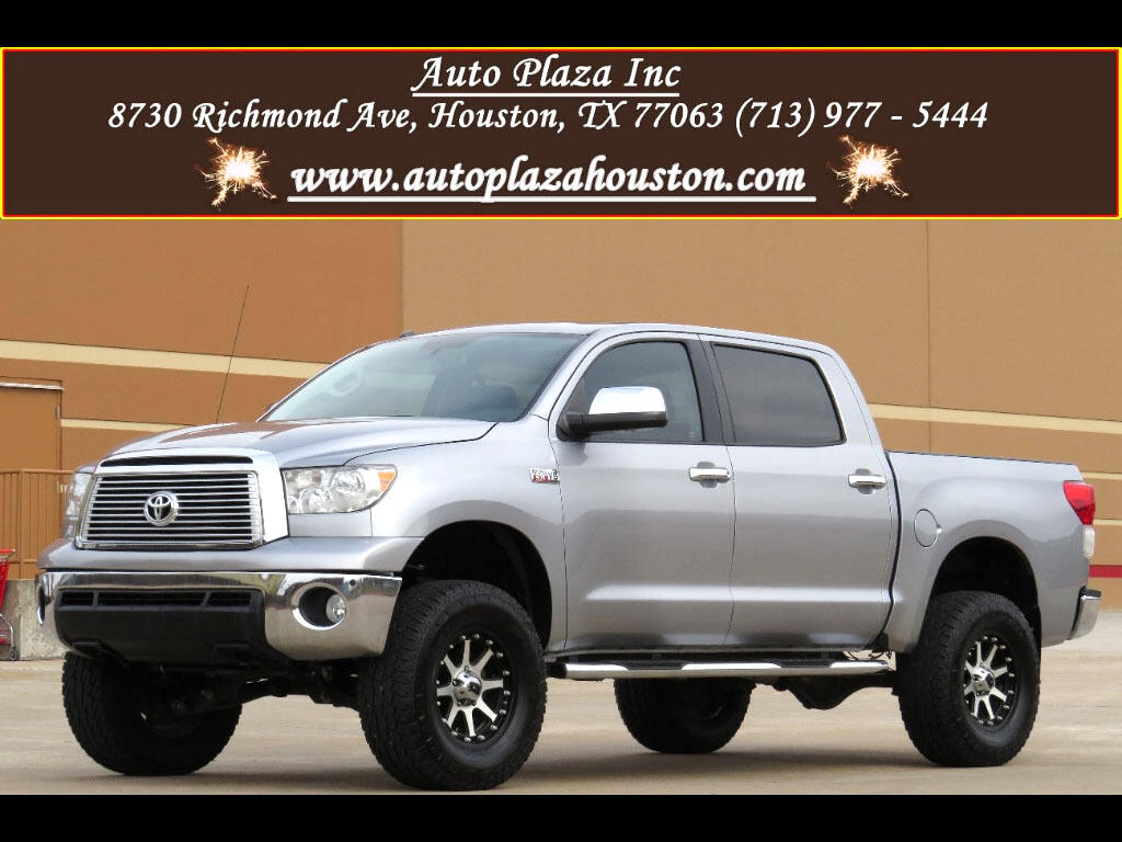 2012 Toyota Tundra Limited 5.7L CrewMax W/ Platinum