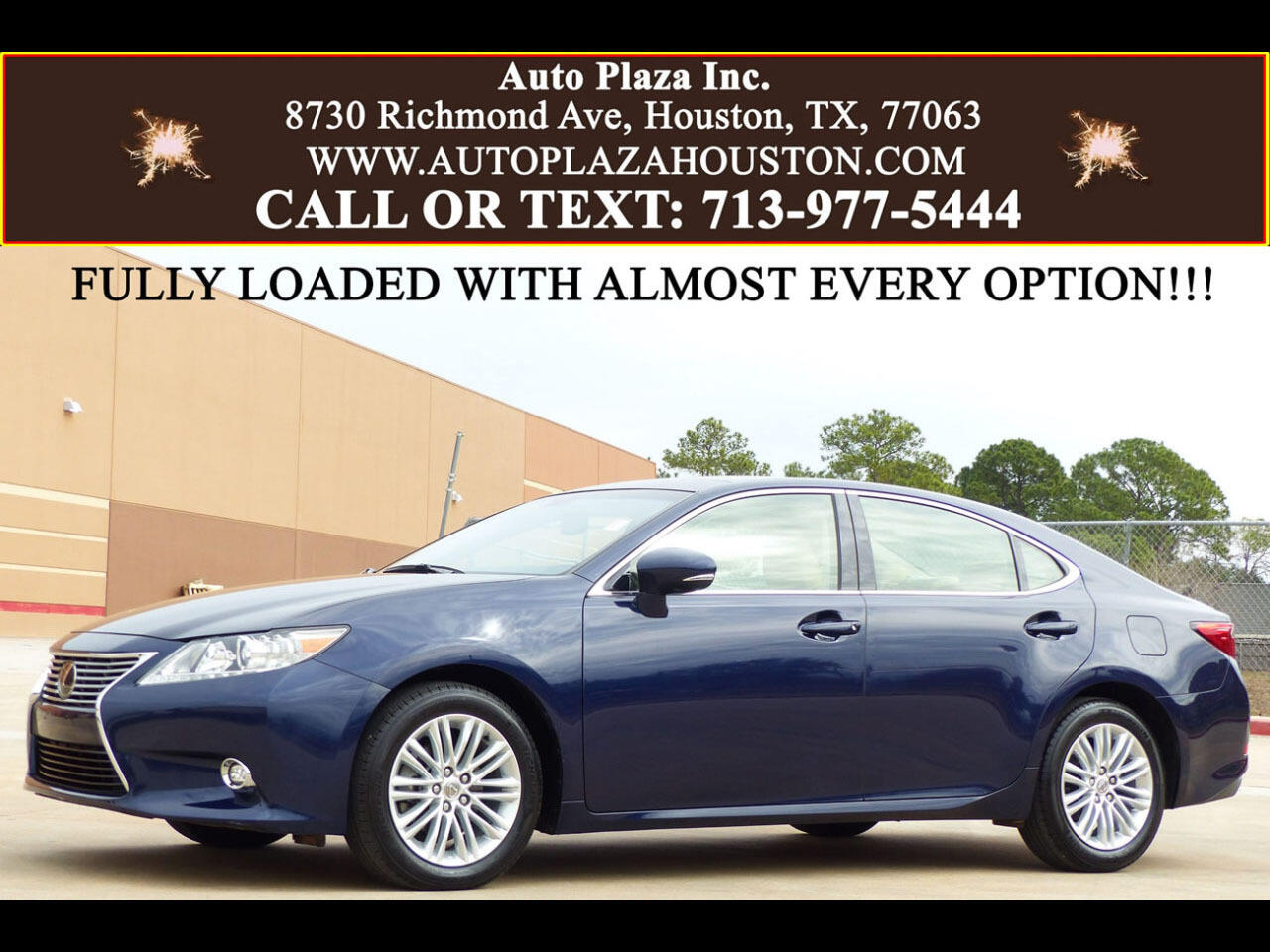 2014 Lexus ES 350 Ultra Luxury Package
