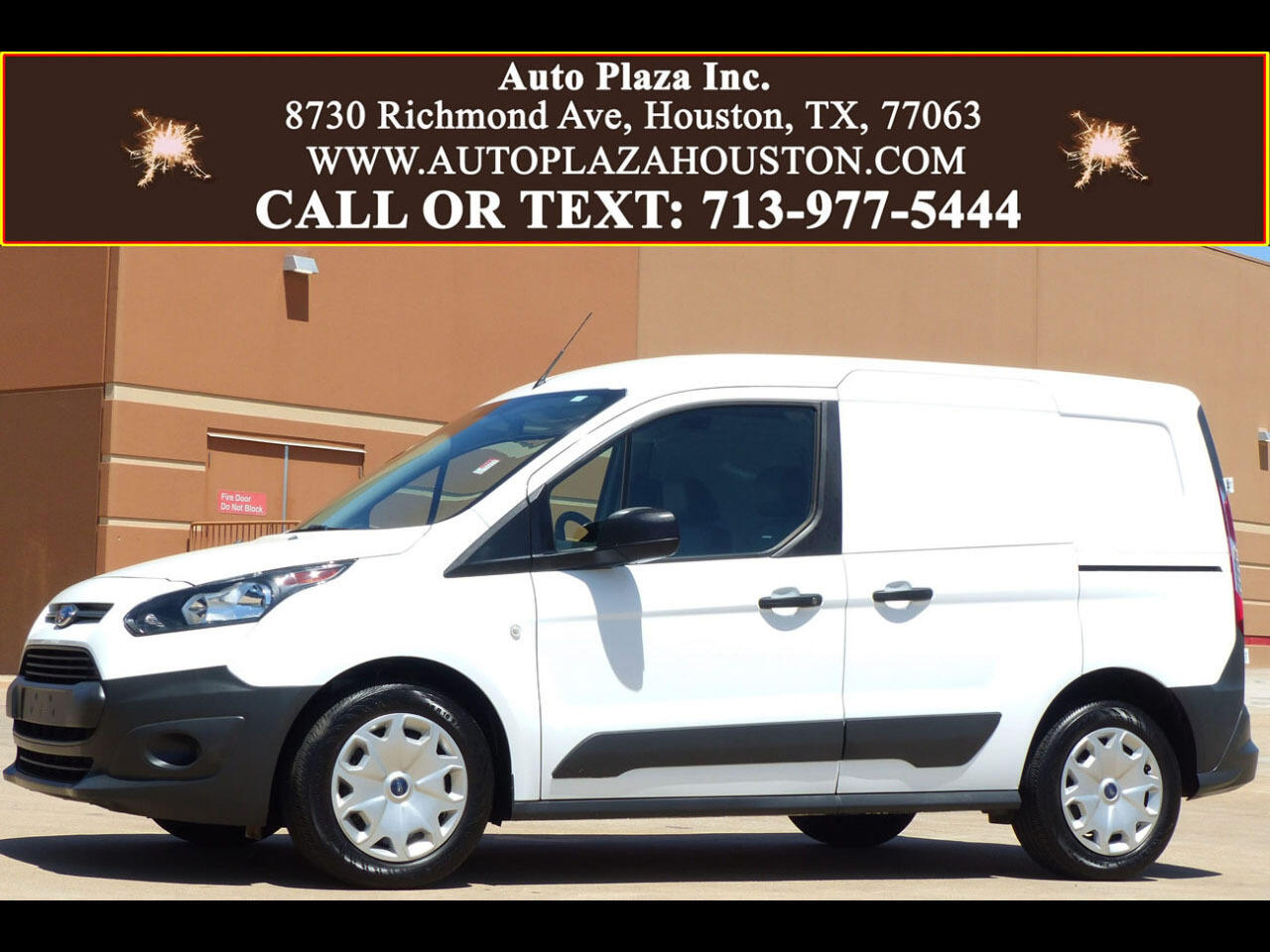 2017 Ford Transit Connect Cargo Van XL SWB w/Rear 180 Degree Door