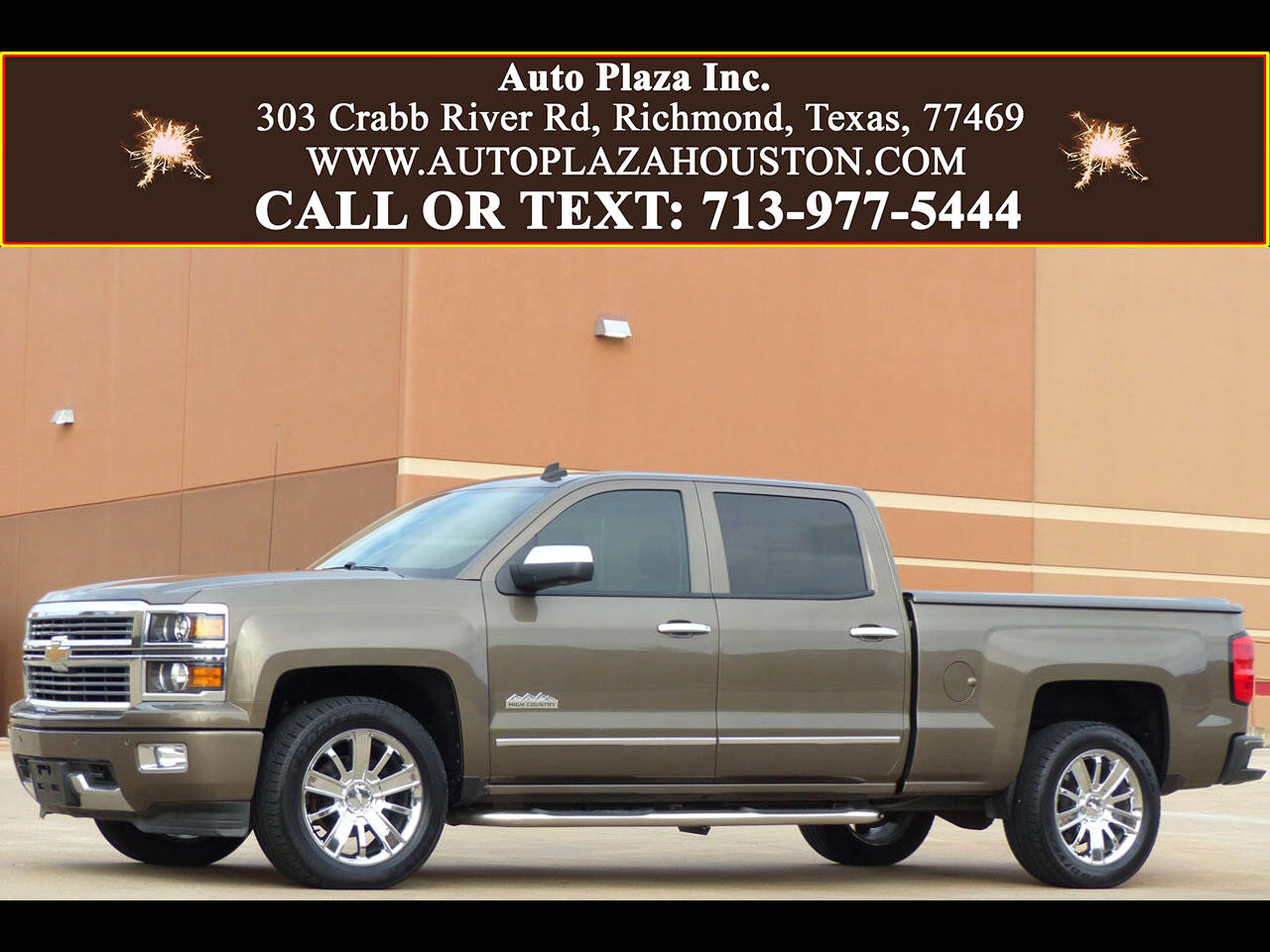 Chevrolet Silverado 1500 High Country Crew Cab 2WD 2014