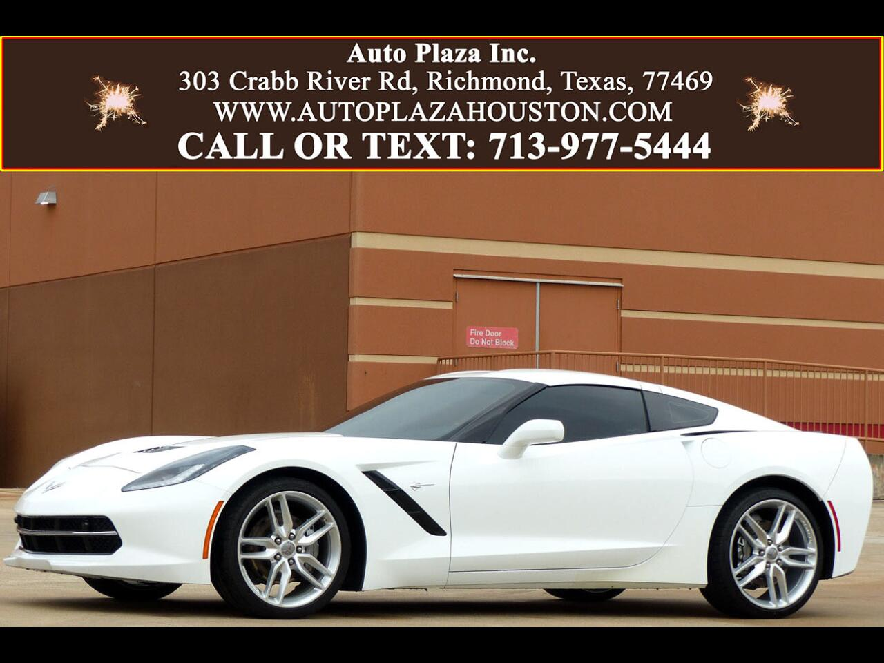 Chevrolet Corvette 3LT Coupe Automatic 2018