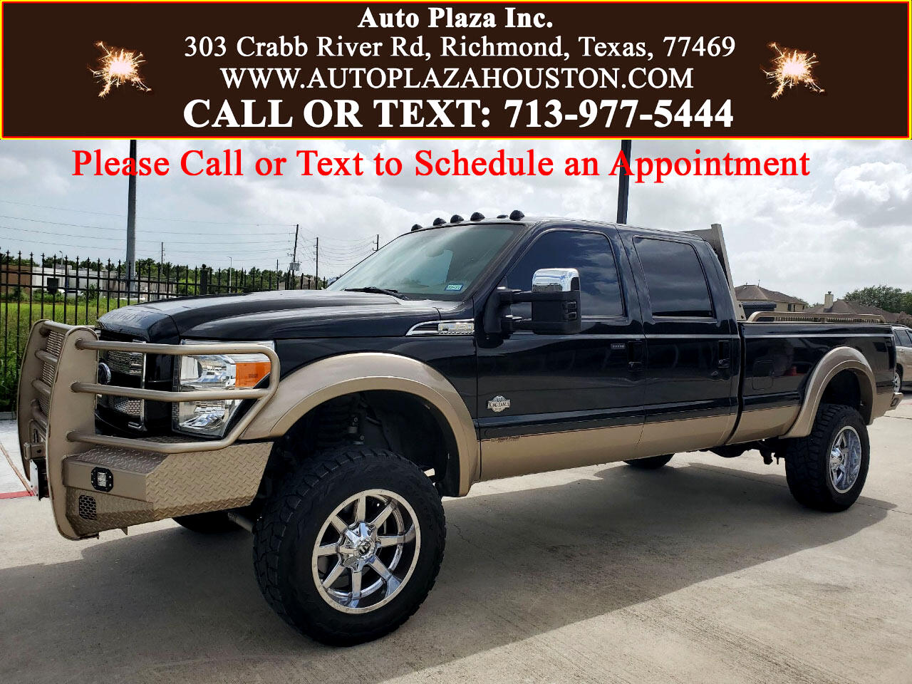 Ford F-350 SD King Ranch Crew Cab Long Bed 4WD 2014