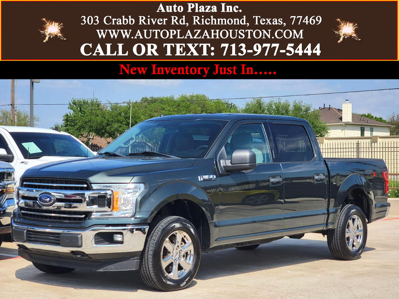 Ford F-150 XLT SuperCab 5.5-ft. Bed 4WD 2018